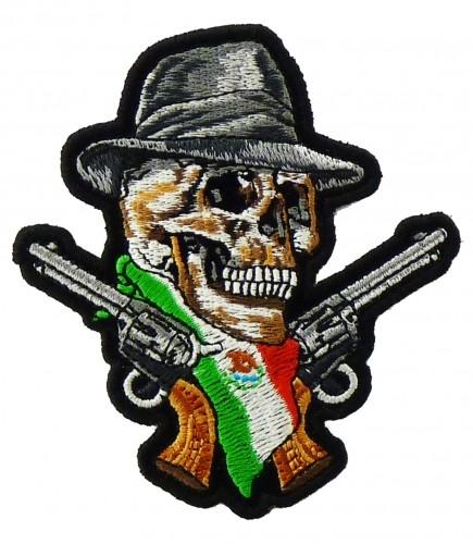 Mexican Flag Skull Mexican Flag Skull Guns