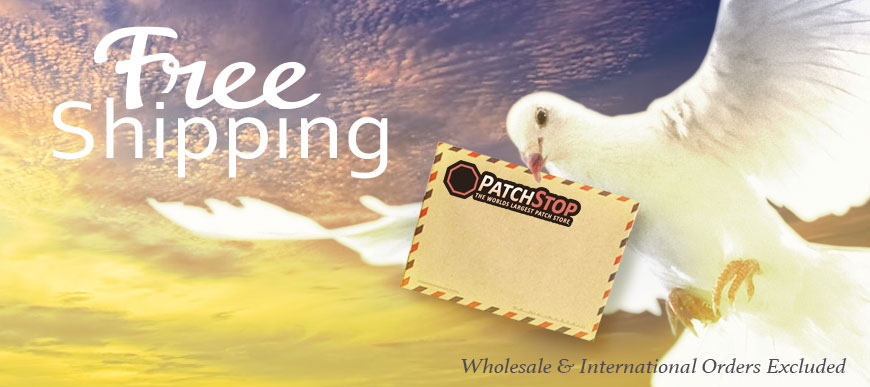 Free Shipping PatchStop Coupon