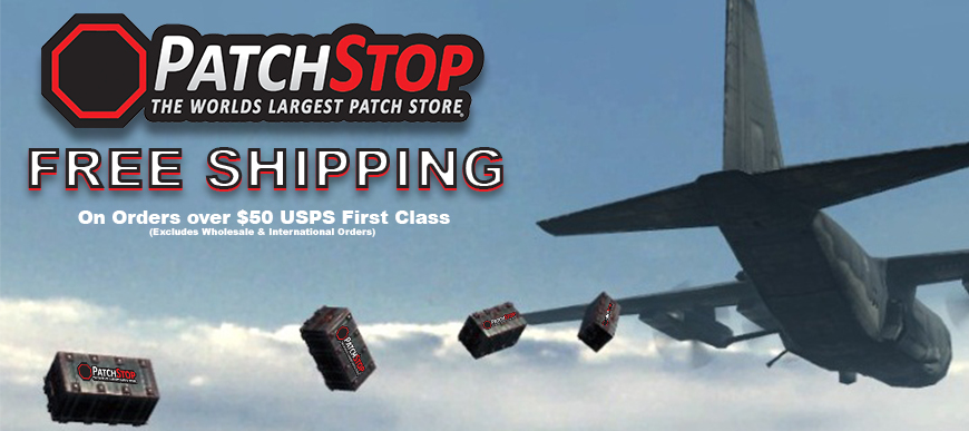 PatchStop Free Shipping Promo